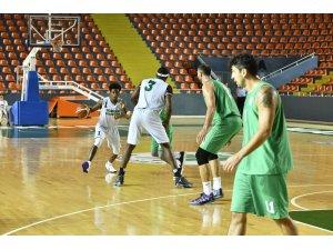 Mamak Belediyesi Basketbol Takımı'ndan galibiyet