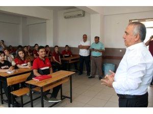 """KONESKOOP Başkan Kolpak'tan öğrencilere """"Ahilik"""" dersi"""