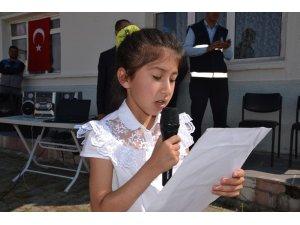 Şenkaya'da İlköğretim Haftası kutlandı