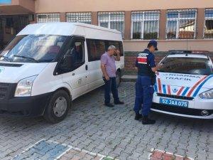 Fatsa'da okul servisleri denetlendi