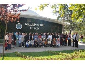 """Eskişehirli öğrenciler için Bilecik'e """"Kuruluştan Kuruluşa"""" gezisi düzenlendi"""
