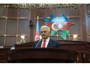 """TBMM Başkanı Yıldırım: """"Azerbaycan'ı öz vatanım kabul ediyorum"""""""