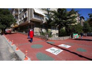 Çankaya'da sokaklar renkleniyor