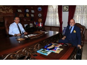Başkan Güven, Seçen'i ziyaret etti