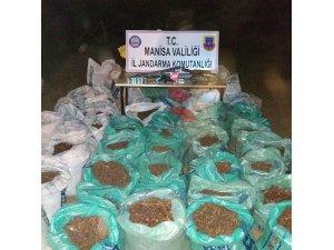 Manisa'da çalınan 2 ton kuru üzüm jandarma tarafından bulundu
