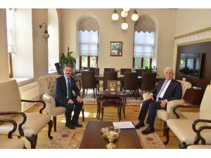 Rektör Çiçek'ten Başkan Gürün'e ziyaret