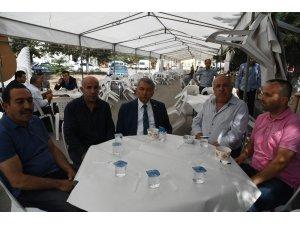 Başkan Günaydın, Gül Küçük Sanayi Sitesi'ndeki Aşure Günü'ne katıldı