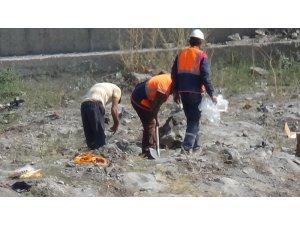 Kars'ta bir inşaatta dinamitle patlama yapıldı