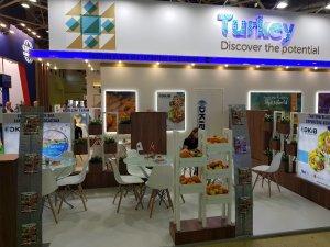 Doğu Karadeniz İhracatçılar Birliği  gıda ve yaş meyve sebze firmalarını Moskova'da tanıttı