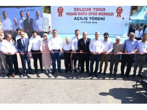 Selçuk Togo Yaşam Boyu Spor Merkezi açıldı