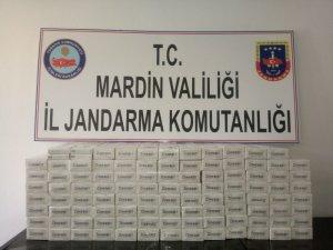 Mardin'de 101 karton kaçak sigara ele geçirildi