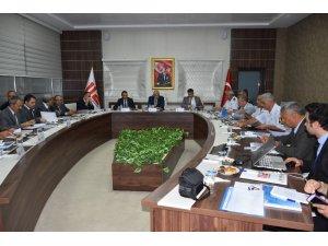 Manisa'da Acil Çağrı Hizmetleri İl Koordinasyon Komisyonu toplandı