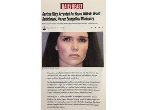 Evangelist Cerrisa Riley ve erkek arkadaşı tecavüzden tutuklandı