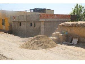 Doru ailesinin ev inşaatı tamamlanmak üzere