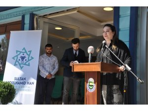 Abdülhamid Han Derneği törenle açıldı
