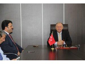 Çakır Kaymakam Çorumluoğlu ile kampüsü görüştü