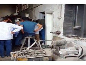 İşyerine giren hırsız suçüstü yakalandı