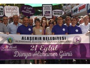 Alaşehir Belediyesi'nden Alzheimer Günü etkinliği