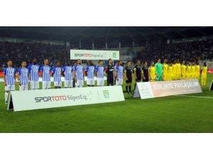 Spor Toto Süper Lig: BB Erzurumspor: 0 - MKE Ankaragücü: 0 (İlk yarı)