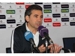 """Osman Özköylü: """"Kazandığımız toplarda etkili pozisyonlar bulduk ve goller attık"""""""