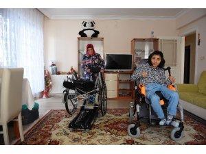 Komşusu yüzünden engelli kızına verdiği sözleri yerine getiremiyor
