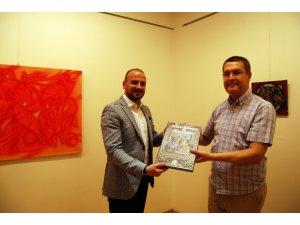 Sanko Sanat Galerisi'nde Dokusal Soyutlamar II sergisi açıldı
