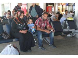 Sedanur'dan gelen acı haberin ardından acılı aile Kars'a döndü