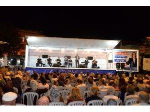 Büyükşehir'den Atça'da Halk Konseri