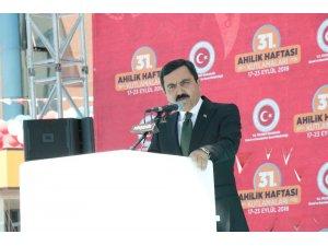 Kırşehir'de Ahilik Haftası Kutlamaları Devlet Töreni yapıld