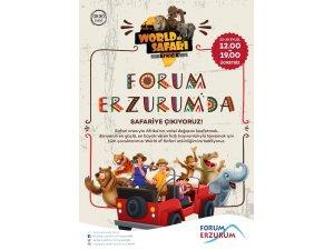 Forum Erzurum tüm çocukları safari heyecanına davet etti