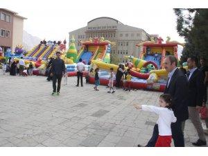 Başkan Epcim çocuk etkinliğine katıldı