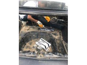 Van'da 370 paket kaçak sigara ele geçirildi