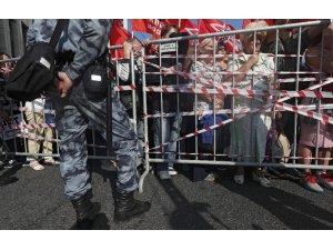 Rusya'da hükümet karşıtı protesto