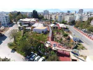 Türkiye'nin en büyük labirent parkuru Teneffüs Park'ta