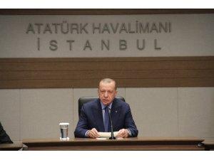 """Cumhurbaşkanı Erdoğan: """"En büyük sorun müttefiklerimiz himayesinde büyüyen terör bataklığı"""""""
