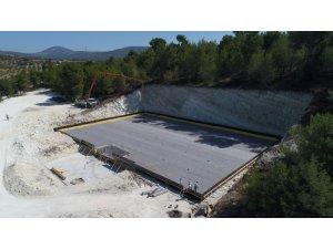 Soma'ya 7 bin 500 tonluk içme suyu deposu