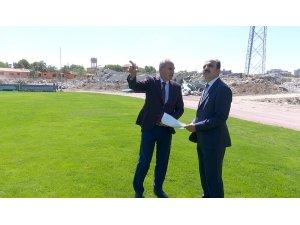 """Altay: """"Eski Stadyumun Millet Bahçesine dönüşmesi büyük bir vizyon"""""""