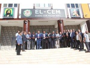 Elazığ'da yenilen Cem ve Kültür Vakfı hizmete girdi
