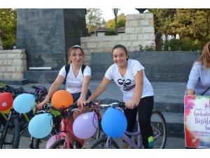 Sinop'ta Süslü Kadınlar bisiklet turu