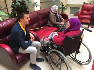 Kızılcahamam AK Parti Gençlik Kolları yaşlıları unutmadı
