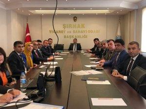 Şırnak Cumhuriyet Başsavcılığı Koruma Kurulu toplantısı yapıldı