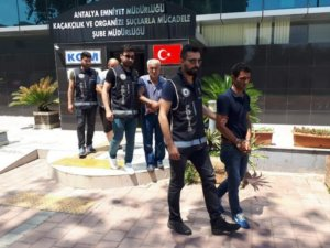 Antalya'da ilk 9 ayda çeşitli suçlardan 160 kişi yakalandı