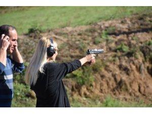 Sinop'ta özel güvenlik eğitim atışları yapıldı