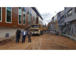Pazaryeri'nde Sokak Sağlıklaştırma projesi devam ediyor