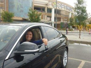İzmir Optimum'un şanslı ziyaretçisi otomobiline kavuştu