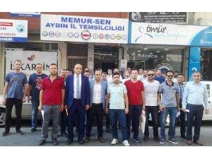 Aydın Sağlık-Sen delege seçimlerinde üyelere baskı yapıldığı iddiası