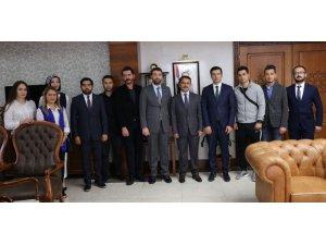 TÜGVA Nevşehir temsilciliği Vali Aktaş'ı ziyaret etti