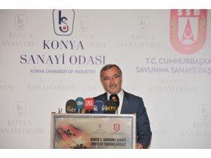 Savunmanın kalbi Konya'da attı