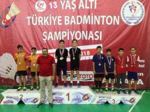 Osmangazili badmintonculardan bronz madalya