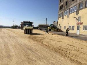 Yunus Emre Mahallesinde asfalt hazırlığı
